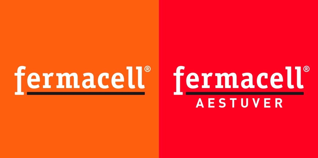Logo Kombination fermacell .fermacell AESTUVER